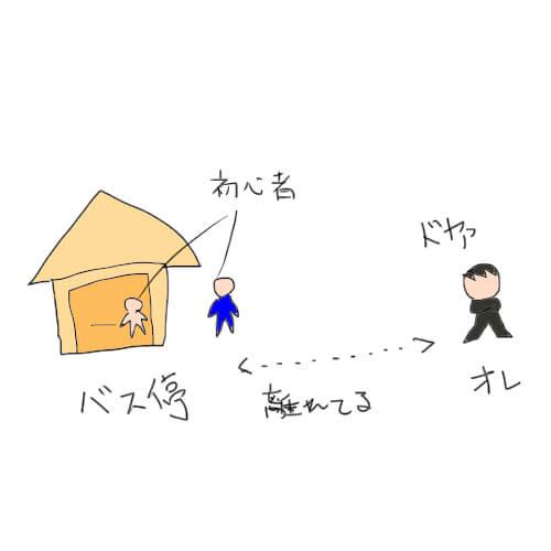 トヨタ期間工の東名豊田のバス停前にはトヨタ送迎バスはこない50M離れた場所に止まる