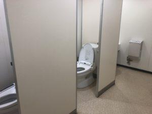 期間工のトイレ