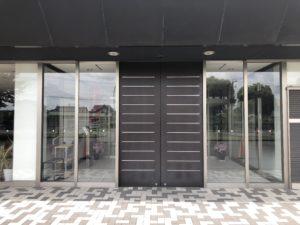 トヨタの寮の玄関